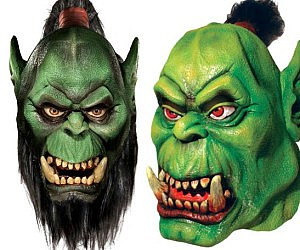 Warcraft Orc Masks