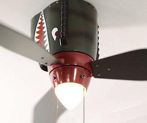 World war ii airplane ceiling fan aloadofball Gallery