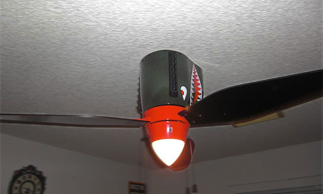 World War II Airplane Ceiling Fan