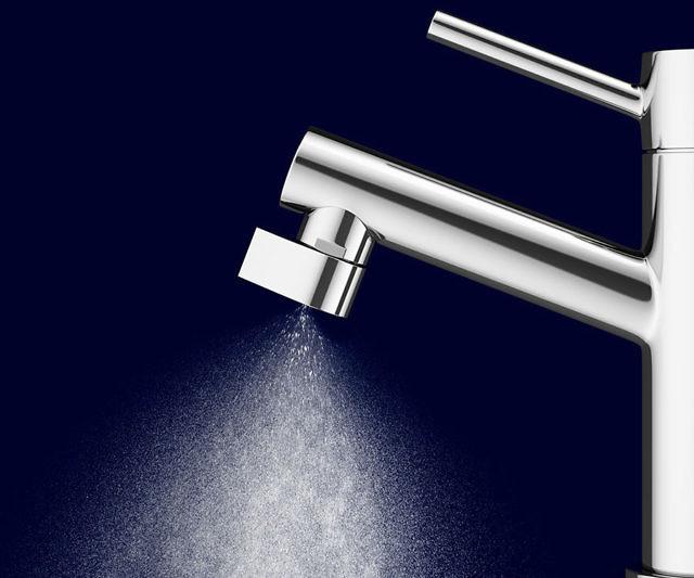 Conserving Faucet Nozzle
