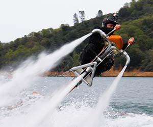 Thrusting Jet Bike