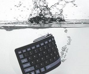 Waterproof Roll Up Keyboard