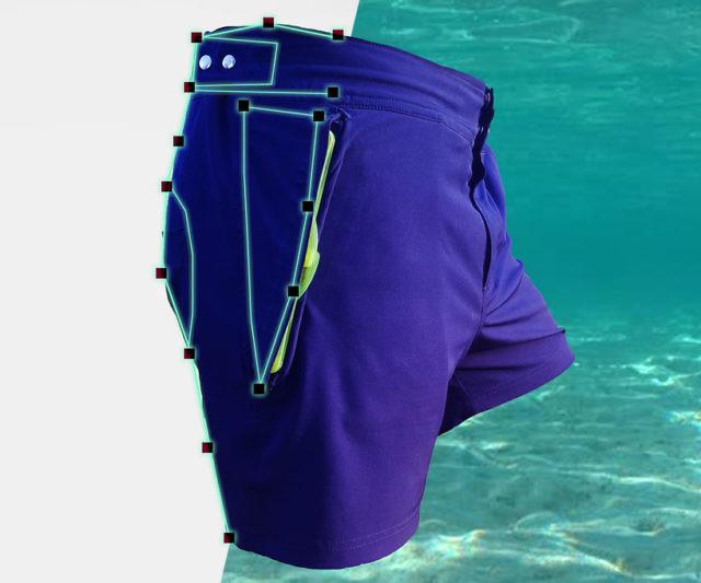 38bb43114fd Waterproof Pocket Shorts