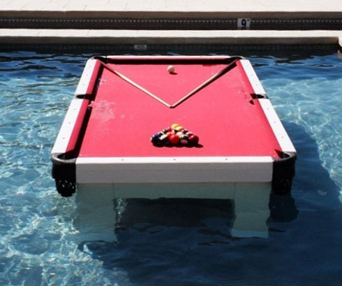 Charming Waterproof Pool Table