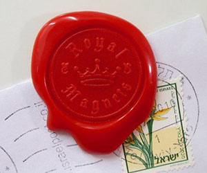 Royal Wax Seal Magnet