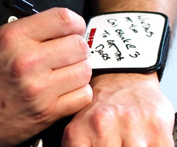 Wearable Dry Erase Board Wristband