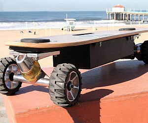 Weight Sensing Skateboard