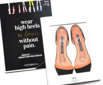 Weight-Shifting High-Heel Inserts
