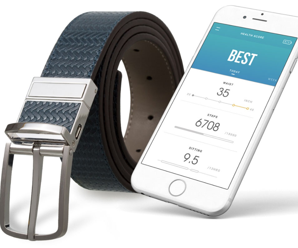 Smart Fitness & Activity Tracking Belt