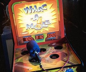 Whac-A-Mole Arcade Machine