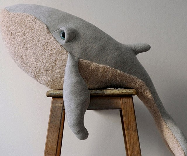 Big Whale Stuffed Animal