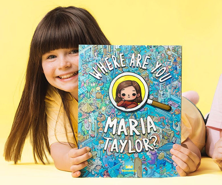 Find Yourself Personalized Kids Book