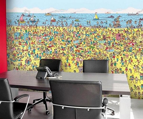 Wheres Waldo Mural