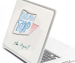 White Board Laptop Cover