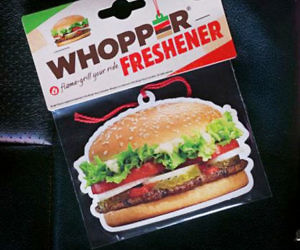 Whopper Scented Air Freshener