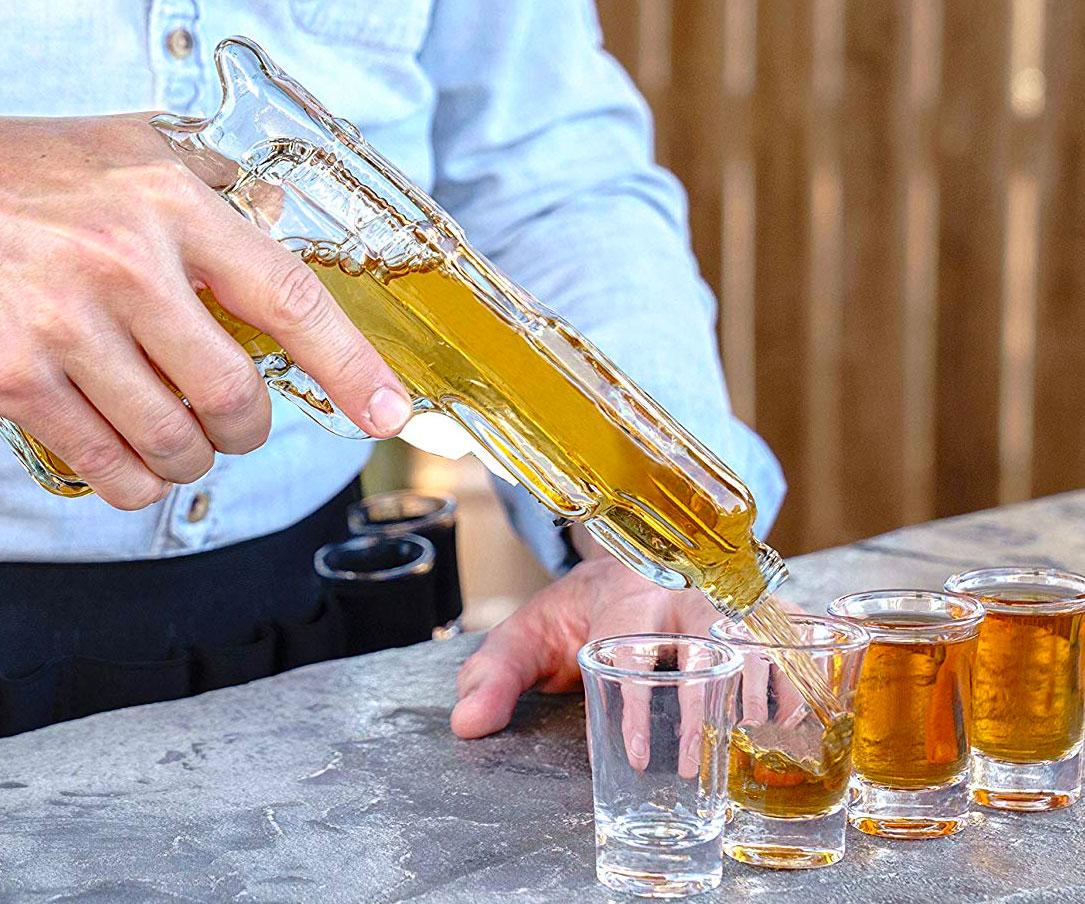 Whiskey Decanter Gun