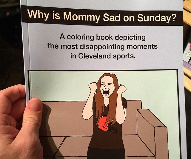 disappointing cleveland sport moments - Cleveland Sports Coloring Book