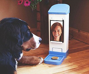 Dog Treat Dispenser >> Wifi Dog Treat Dispenser