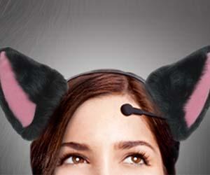 Wiggly Cat Ears