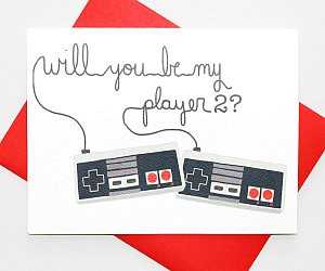 Be My Player Number Two Card