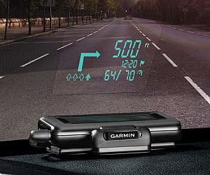 Windshield Display GPS