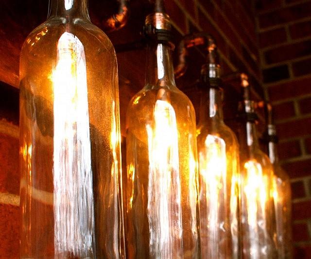 wine bottle lighting. wine bottle light lamp lighting