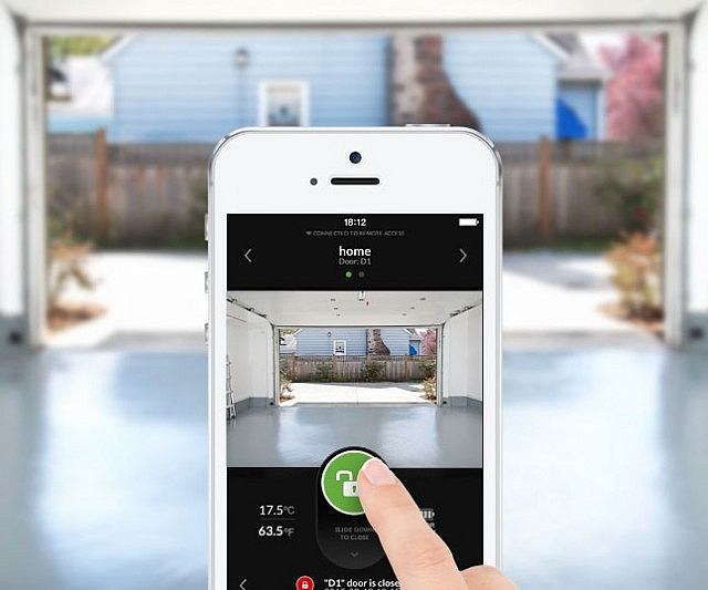 App Controlled Garage Door Opener