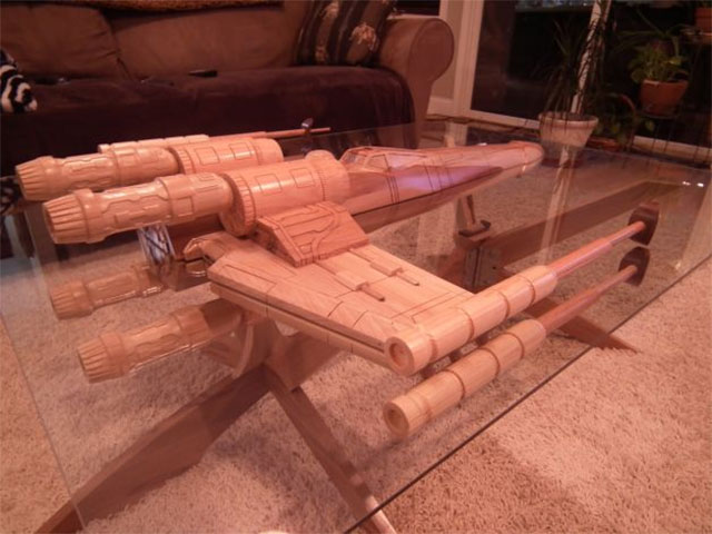 Star Wars X-Wing Coffee Table - Wars X-Wing Coffee Table