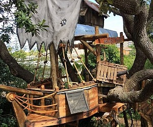 Wooden Ship Treehouse