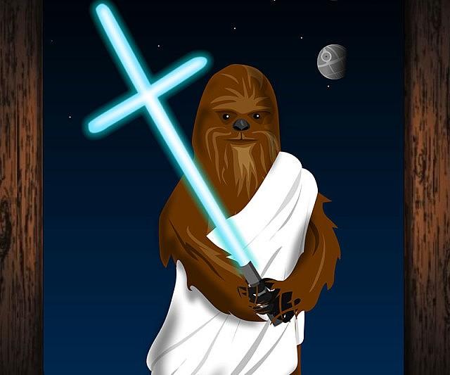 Wookie Jesus Portrait