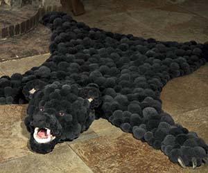 Wool Bear Rug