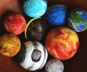 Wool Solar System Planets