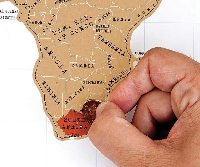 Traveler Scratch Off Map – World Traveler Map