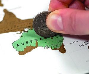 World Traveler Scratch Off Map - Scratch off us map