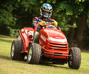 World's Fastest Lawnmower