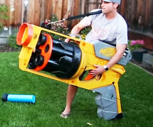 This is another great nerf sniper rifle that we recommend.
