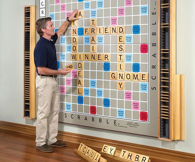 World's Largest Scrabble Board