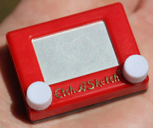 Worlds Smallest Etch-A-Sketch