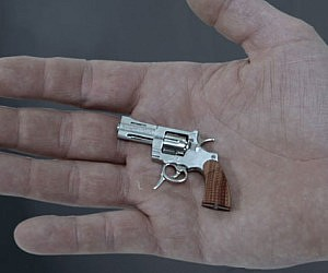 World's Smallest Revolver