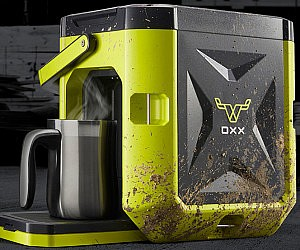 World's Toughest Coffee Maker