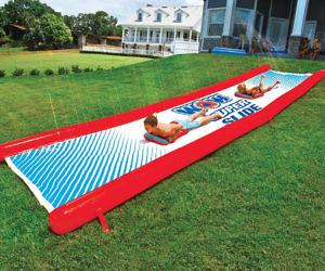 Backyard Slip And Slide