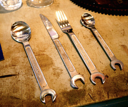 Wrench Cutlery Set