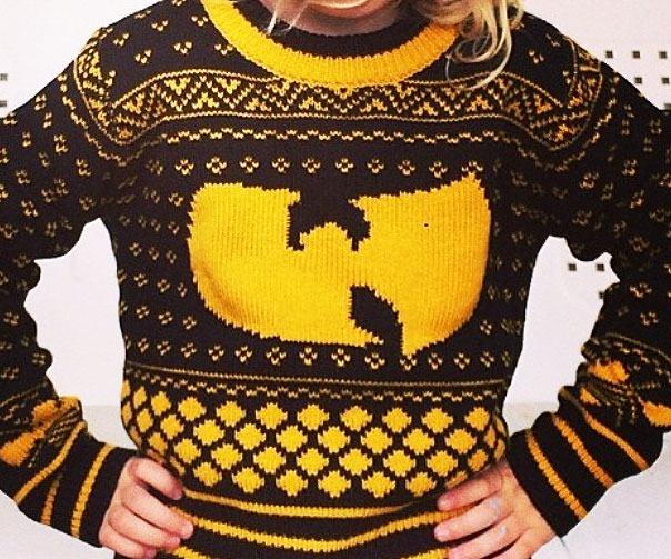 Wu Tang Christmas Sweater