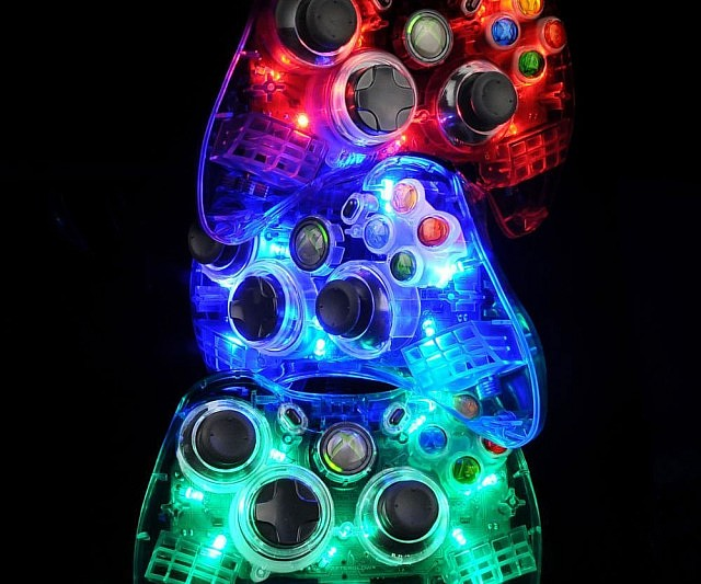 Light Up Xbox Controller
