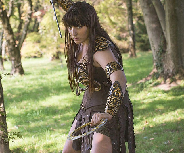Xena Warrior Princess Cosplay Outfit
