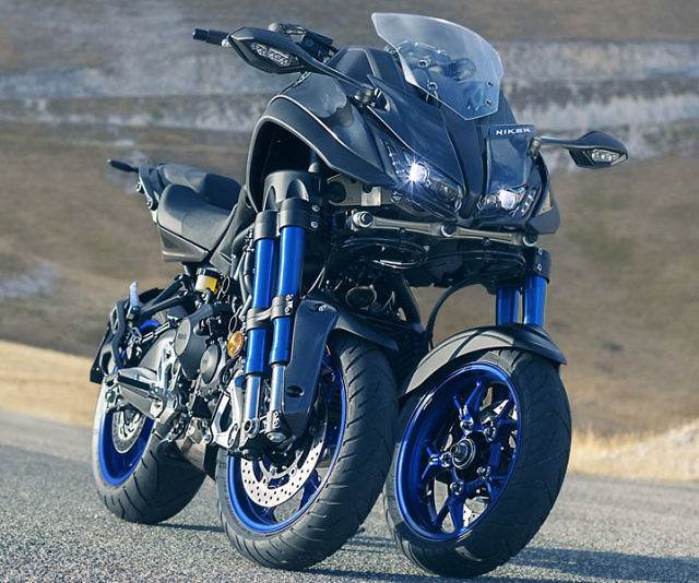 Yamaha Niken 3 Wheel Motorcycle
