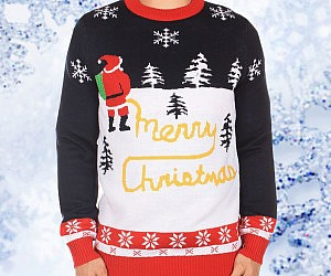 Yellow Snow Ugly Christmas Sweater