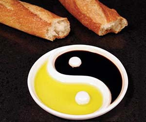 Yin And Yang Dipping Plate