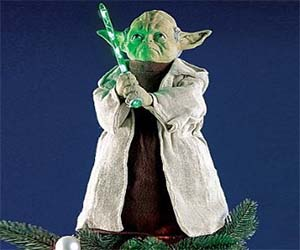 Yoda Christmas Tree Topper