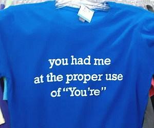 Grammar Lover Shirt